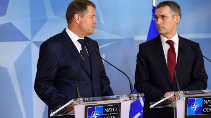 Iohannis si seful NATO