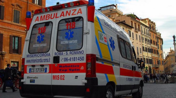 Român bătut şi incendiat la Torino