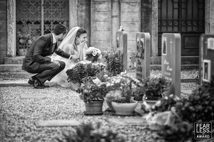 Nu vei uita prea ușor aceste imagini. Opt fotografii de nuntă impresionante