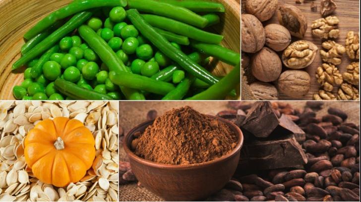Alimente BOGATE în magneziu, cu efect uimitor: înlătură rapid oboseala!