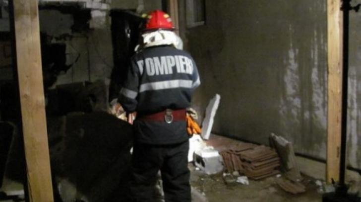 Explozie puternică într-o locuință din Vaslui: un bărbat a fost rănit