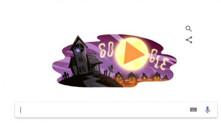 HALLOWEEN. Google celebrează Halloween printr-un doodle special
