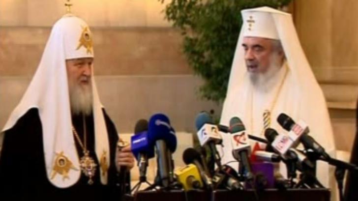 Vizită istorică a Patriarhului Kiril al Rusiei la București.Șeful Ortodoxiei a adus românilor un DAR
