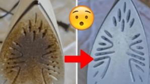 Cu ce se curăţă TALPA de la fierul de călcat rufe. Cele mai eficiente metode