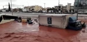 Inundații CATASTROFALE lângă Atena. Cel puțin 10 morţi. Autoritățile au decretat starea de urgență