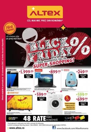 Catalog Altex de Black Friday 2017