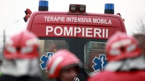 INCENDIU VIOLENT la o fabrică de confecţii. Pompierii intervin în forţă