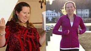 Această femeie a slăbit jumătate din greutatea sa într-un timp record! Cum a reuşit