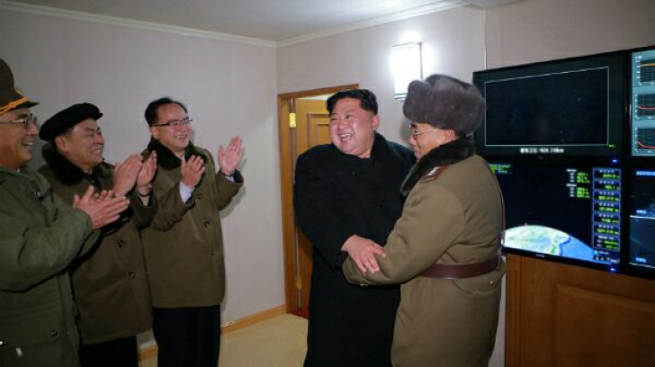 Coreea de Nord a publicat fotografii de la lansarea ultimei sale rachete intercontinentale