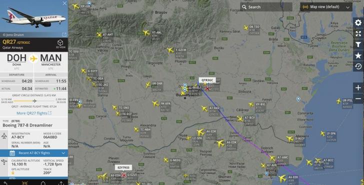Alertă aviatică! Aterizare de urgență pe Aeroportul Otopeni   VIDEO