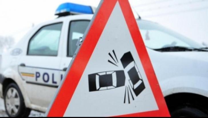 Șase tineri, răniți în Vaslui de un șofer beat cu mâna în ghips