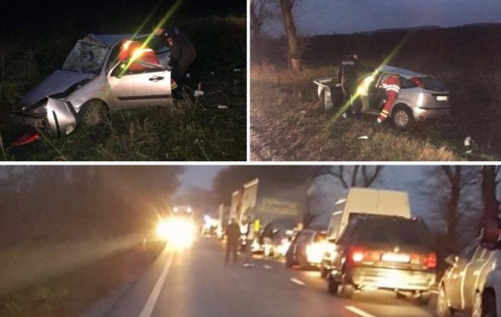Accident teribil între Arad și Oradea: doi morți și haos în trafic