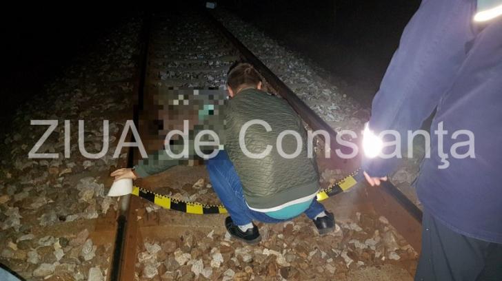 Accident feroviar în județul Constanța. Un bărbat a decedat în urma impactului