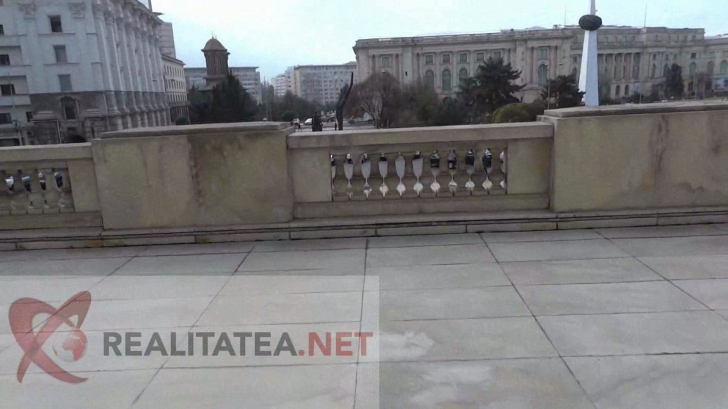 Cum arată acum biroul lui Nicolae Ceaușescu, liftul + acoperișul clădirii CC al PCR de unde a fugit cu elicopterul în 1989. REPORTAJ EXCLUSIV VIDEO în sediul MAI