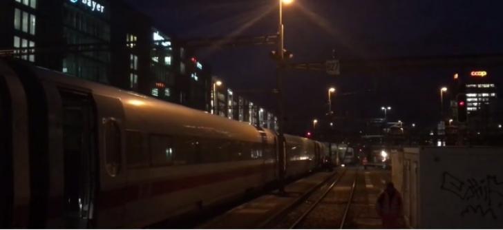 Tren deraiat în Elveţia - traficul feroviar, blocat temporar în Basel