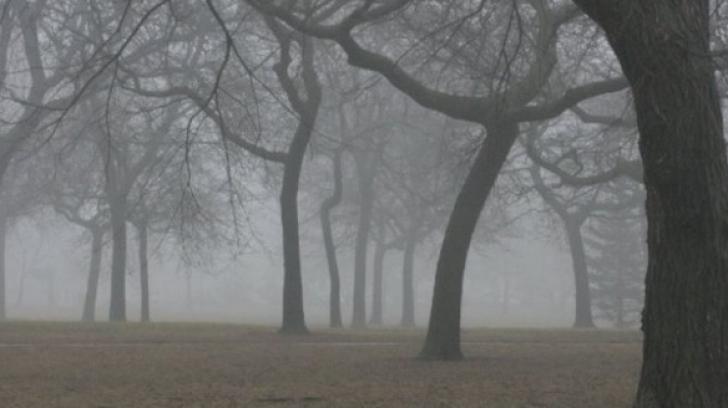ALERTĂ METEO. Cod GALBEN de ceaţă