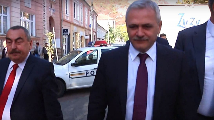 """Liviu Dragnea, huiduit la Deva: """"Infractorule! Penalule!"""""""