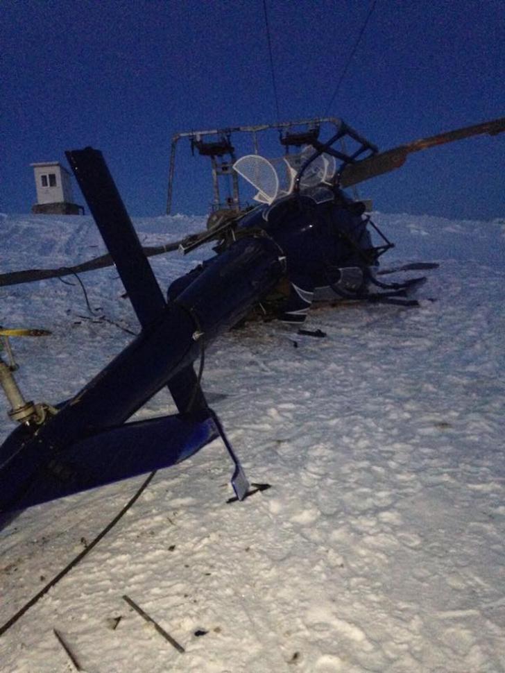 Milionar de Forbes, accident bizar de elicopter în Munții Banatului (FOTO)