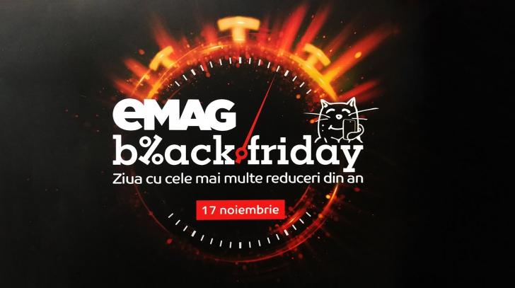 eMAG Ghid Black Friday - Au fost anuntate ofertele - Vezi LIVE diferenta intre preturi