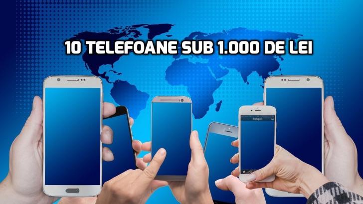 eMAG. 10 telefoane foarte bune care costa sub 1.000 lei