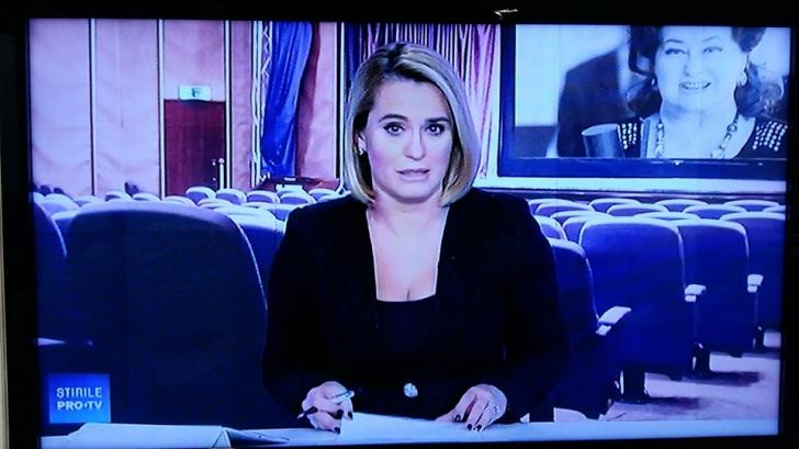 Stela Popescu a murit. Cum a aparut Andreea Esca la Pro TV, dupa decesul actritei. Omagiu