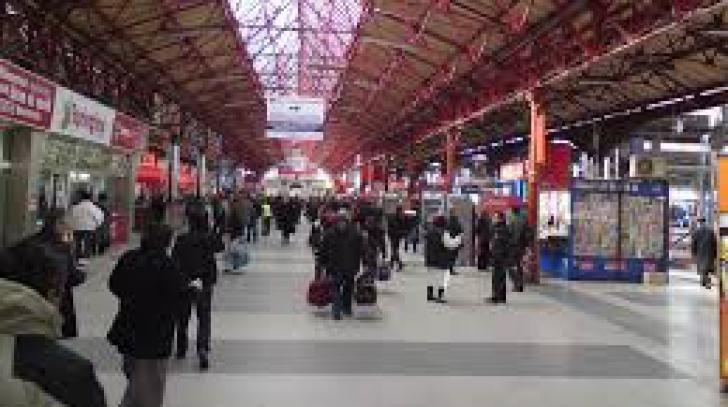 O persoană a fost lovită de tren în Gara Basarab