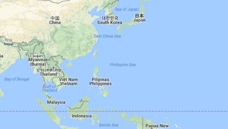 Avion prăbuşit în Marea Filipinelor