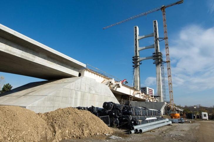 Cum arată acum pasajul Ciurel, care costă 470 de milioane de euro, și când e gata