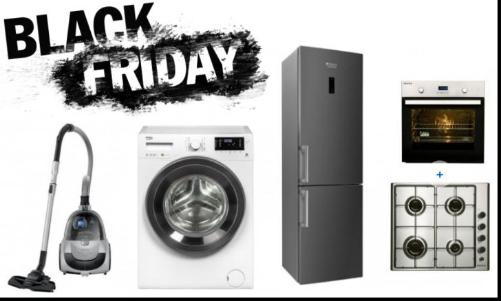 Black Friday 2017 eMAG. Electrocasnice cu prețuri care bat concurența