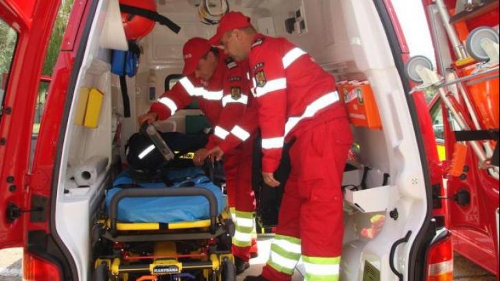Grav accident, la Cluj: cinci răniţi