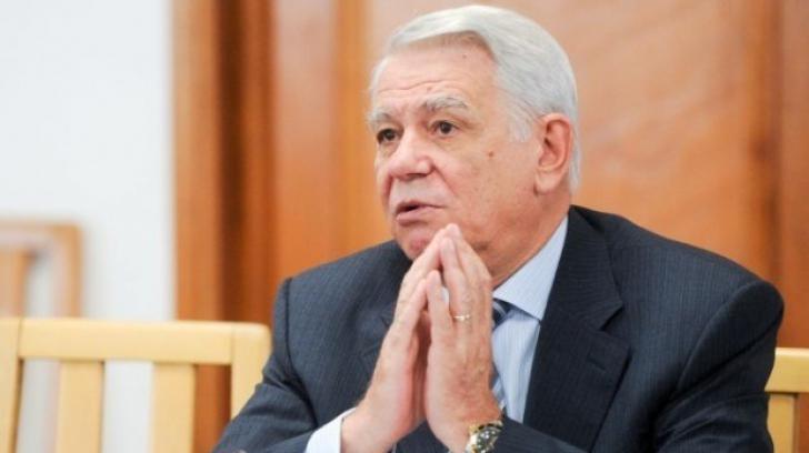 Ministrul de Externe Teodor Meleșcanu