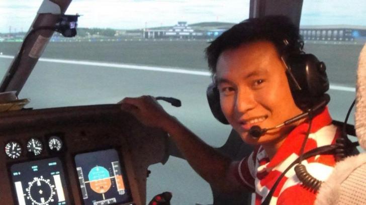 Prima imagine a pilotului ucis într-o sesiune de antrenament