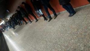 IMAGINEA ZILEI. Așteptând metroul în București