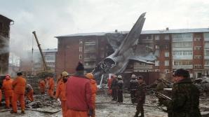 Avionul s-a prăbușit într-un cartier rezidențial din Irkutsk în 1997
