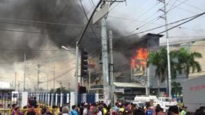 Incendiu într-un mall din Filipine: 37 de oameni au murit