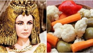 De ce mânca Regina Cleopatra multe murături. Secretul pe care puţini îl ştiu!