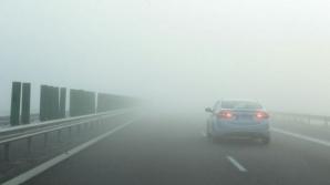 Cod galben de ceaţă pentru mai multe judeţe din România