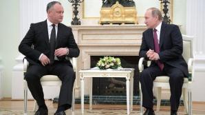 Igor Dodon, alături de Vladimir Putin