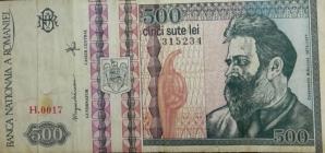 Mai ai pe acasă bancnote de 500 de lei cu Brâncuşi? Cât valorează acum