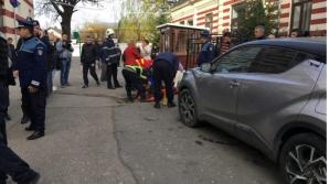 Directoarea din Buzau, accident teribil