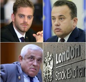Bursa de la Londra, mutată la Bucuresti