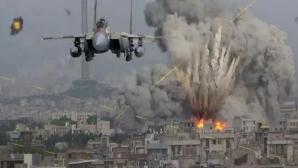 Bombardament israelian în Gaza - imagine de arhivă
