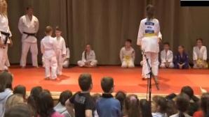 O secție de judo a fost deschisă la liceul românesc din Gyula, Ungaria
