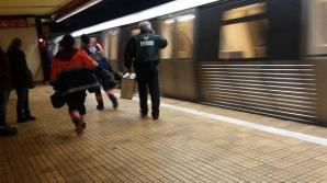 Mărturiile şocante ale mecanicului trenului care a izbit-o mortal pe tânăra împinsă de o femeie