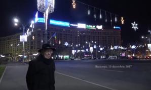 Mihai Sora, în Piața Victoriei