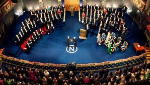 S-au decernat Premiile Nobel! Ceremonii fastuoase la Stockholm și la Oslo