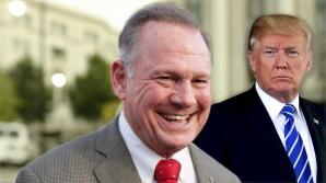 Roy Moore s-a bucurat de susținerea lui Donald Trump
