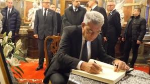 Premierul Mihai Tudose la Castelul Peleș