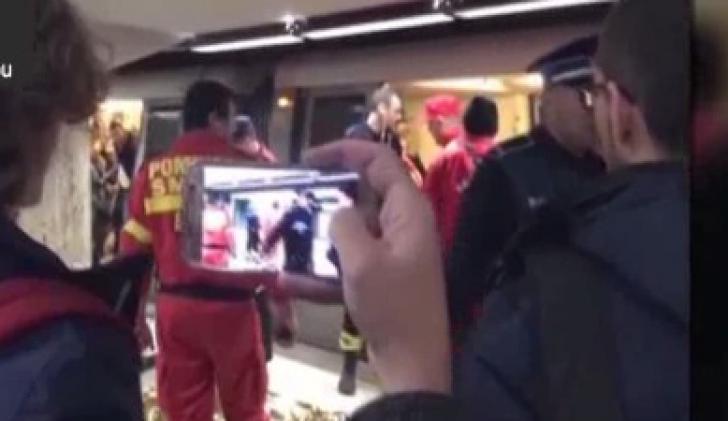 """Crima de la metrou. Martor: """"Lumea s-a îngrămădit să filmeze cu telefoanele"""""""