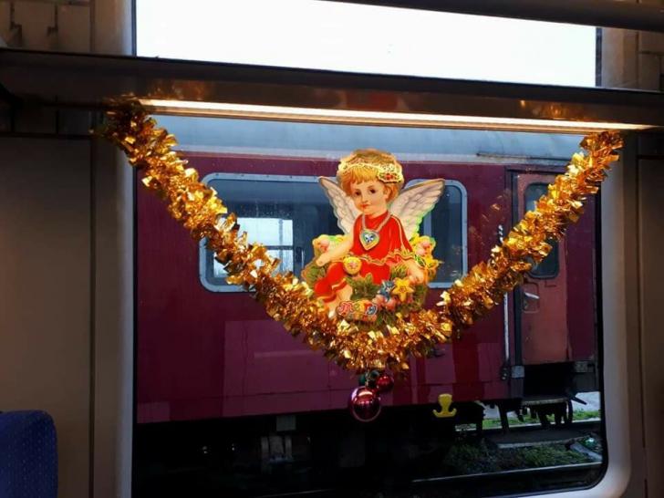 GALERIE FOTO&VIDEO. Surpriza CFR pentru călători în perioada sărbătorilor de iarnă